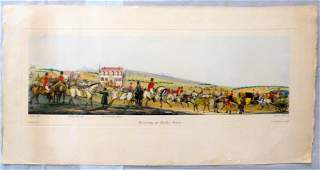 Antique Litho Meeting at Kirby Gate H ALKEN DEL T