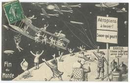Antique Rare Art Nouveau / Deco Design Postcard