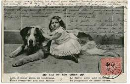 Antique  Vintage Postcard  French  Photo  Design