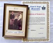 Authentic Christmas Card Signed Princess Diana