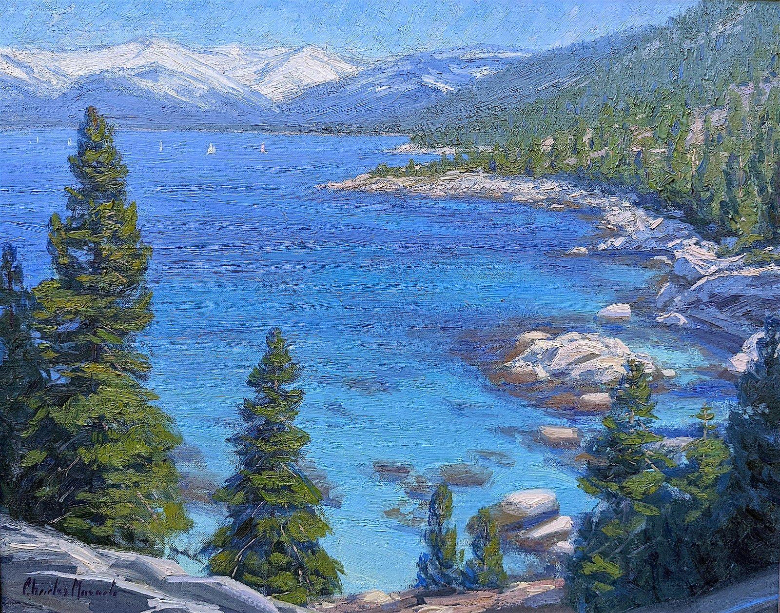 CHARLES MUENCH, American Lake Tahoe, CA