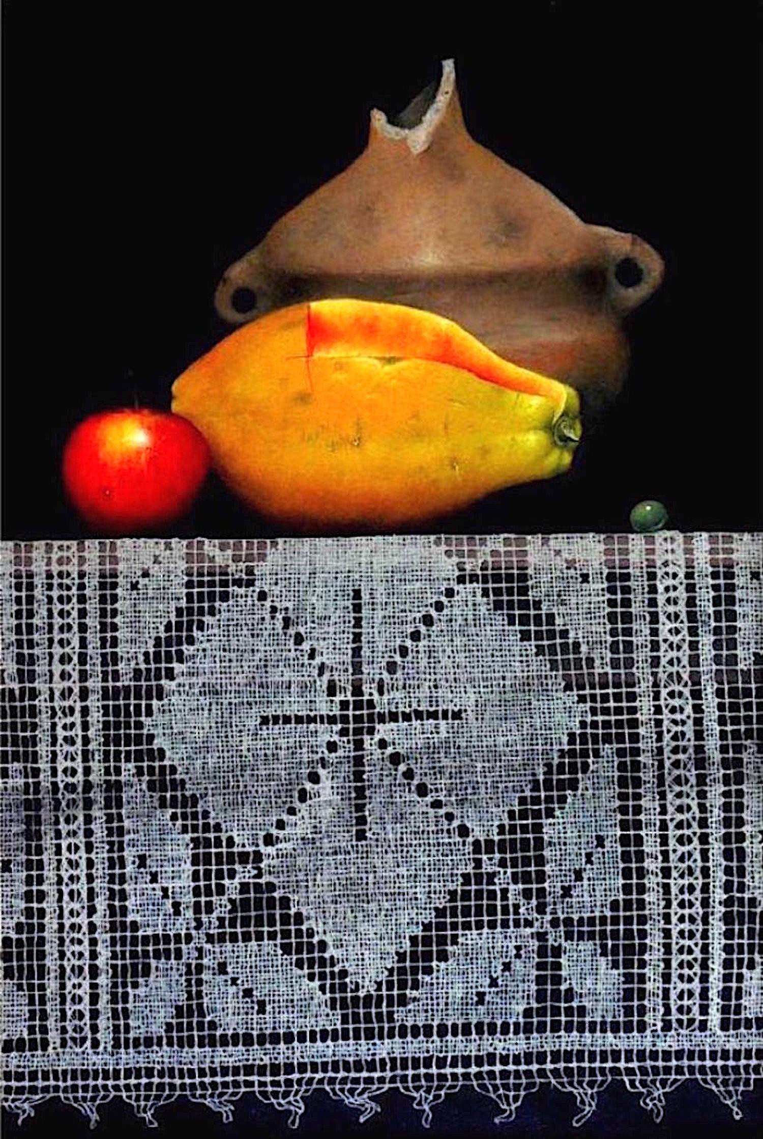 HERNAN MIRANDA (1960 - ) Ceramica con Frutas