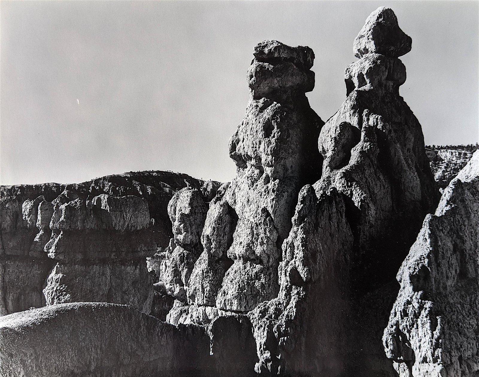 "Vintage Gelatin Photo American Landscape 11"" x 14"","
