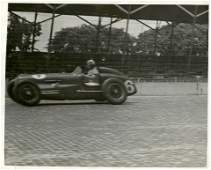 Historical Photo Indianapolis Car Racing, 1938