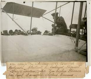 Historical Photo Pioneers Aviation Circuits, 1910s