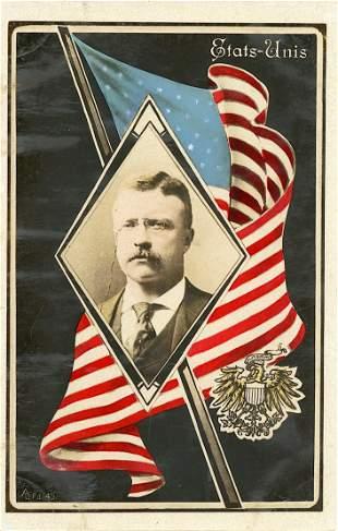 Antique / Vintage Postcard  President Roosevelt