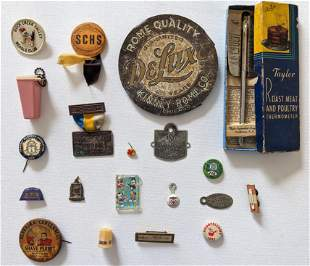 Vintage Set with 20 Misc. Collectible Items