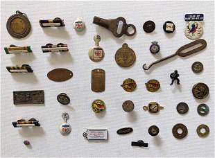 Vintage Set with 35+ Misc. Collectible Items