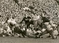 Historical Photo Football Notredam vs Northwestern 1936