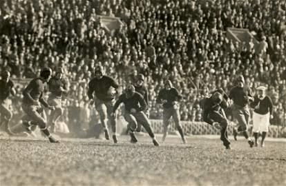 Historical Photo Football Harvard vs Dartmouth 1931