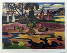 PAUL GAUGUIN Quality Stone Lithograph New York Graphic