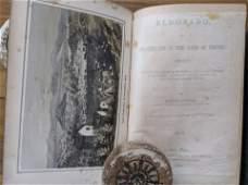 Books EL DORADO Vol I - II by Bayard Taylor, 1850