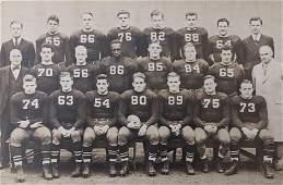 Historical Photo Football Team Cornell Jerome Holland