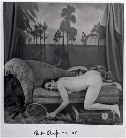 RUDOLF RADLINGER Signed Photograph Female Nude