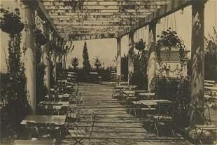 Antique / Vintage Photo Roof Garden Hotel Astor, New