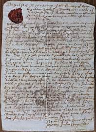 Antique Original Document Signed Pirate Richard