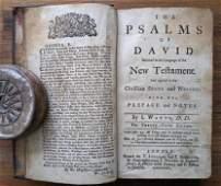The Psalms of David - New Teftament, 25th Edit., 1764