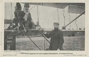 Vintage Postcard Unusual Rare Pioneer Pilot