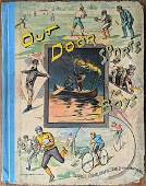 Rare Children's Book  OUT DOOR SPORTS FOR BOYS, 1890