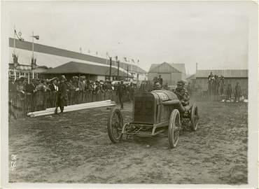 Vintage Rare Photo Grand Prix ACE, 1912