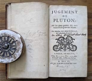 Antique Book Judgement Of Plato, 1704
