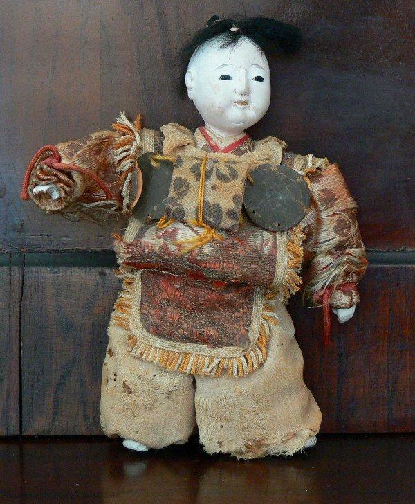 Vintage Antique Japanese doll 19th Century. - 2