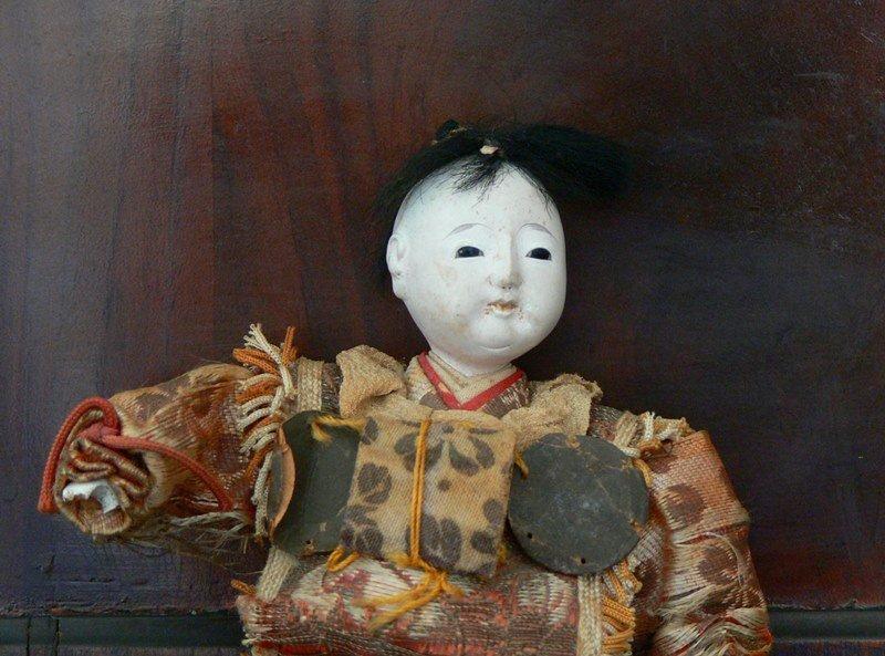 Vintage Antique Japanese doll 19th Century. - 4