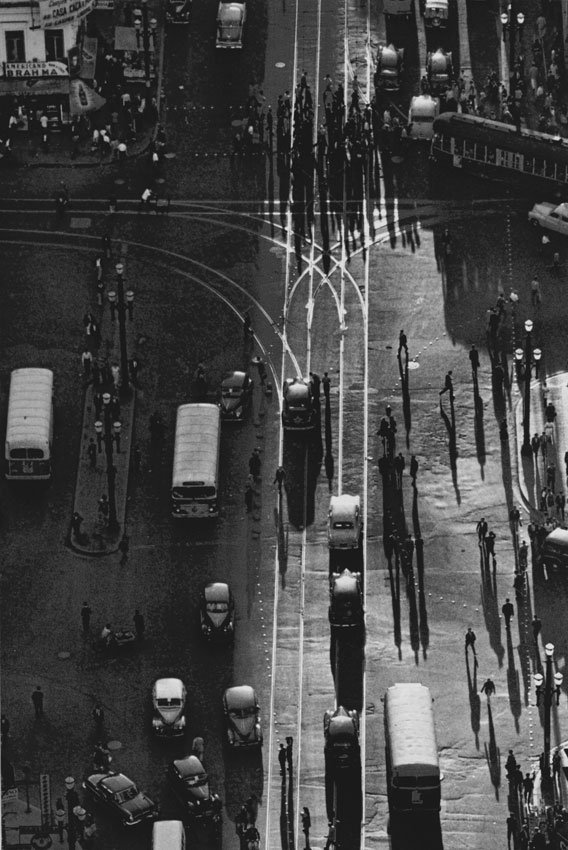 Vintage Shot of Sao Paulo, Brazil by RENE BURRI in 1960