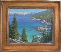 Charles Muench (1966- ) Lake Tahoe View