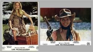 B. BARDOT and C. CARDINALE.1971 Les Petroleuse