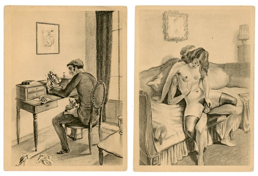 image Erotic french postcards c 1900 1925