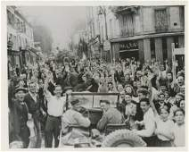 Silver Photo News Liberation of Paris WWII 1944