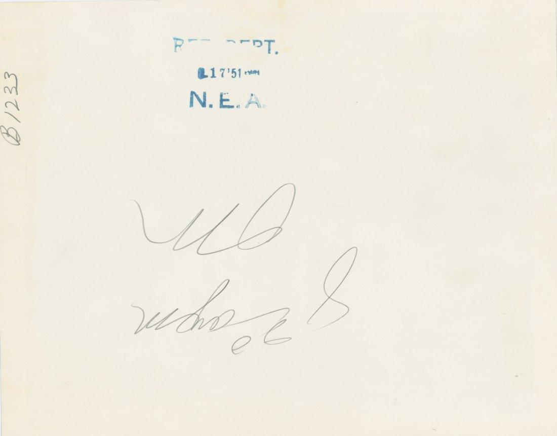 Press Photo Joe Louis vs. Cesar Brion, 1951 - 3