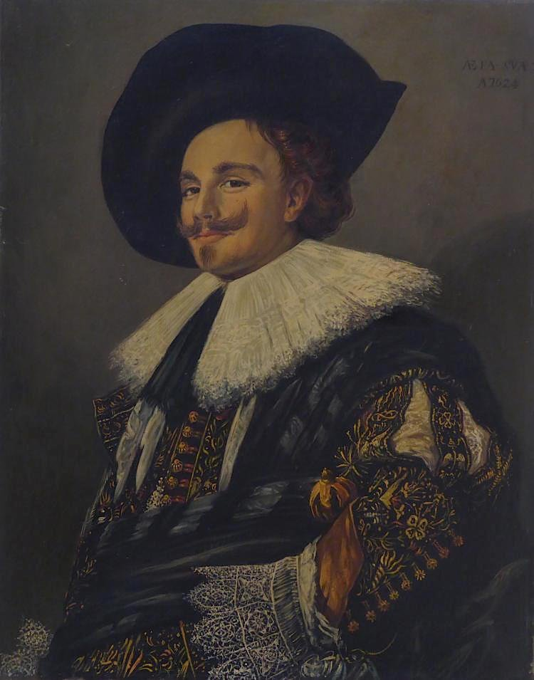 Frans Hals (1580 - 1666) The Laughing Cavalier Oil on