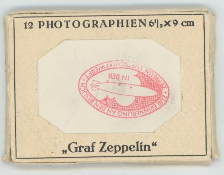 Very Rare set 12 photos Zeppelin Nazi during - 5