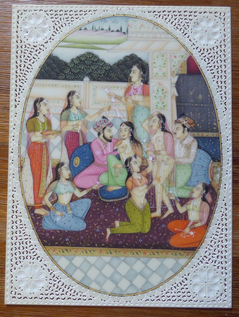 Fine Kamasutra Design from India