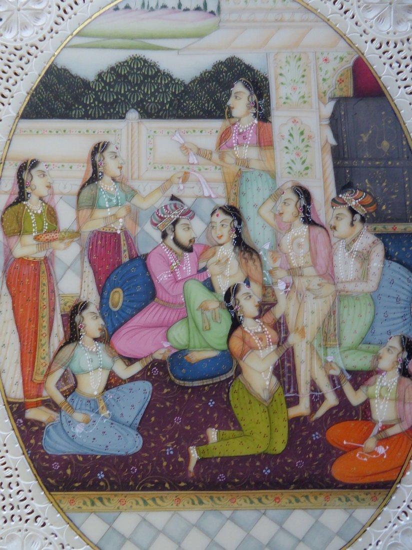 Fine Kamasutra Design from India - 2