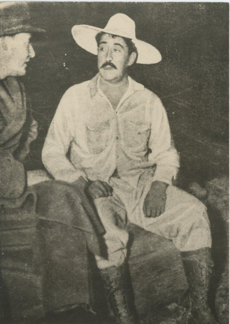 DAVID ALFARO SIQUEIROS, Rare Silver Gelatin, 1950's