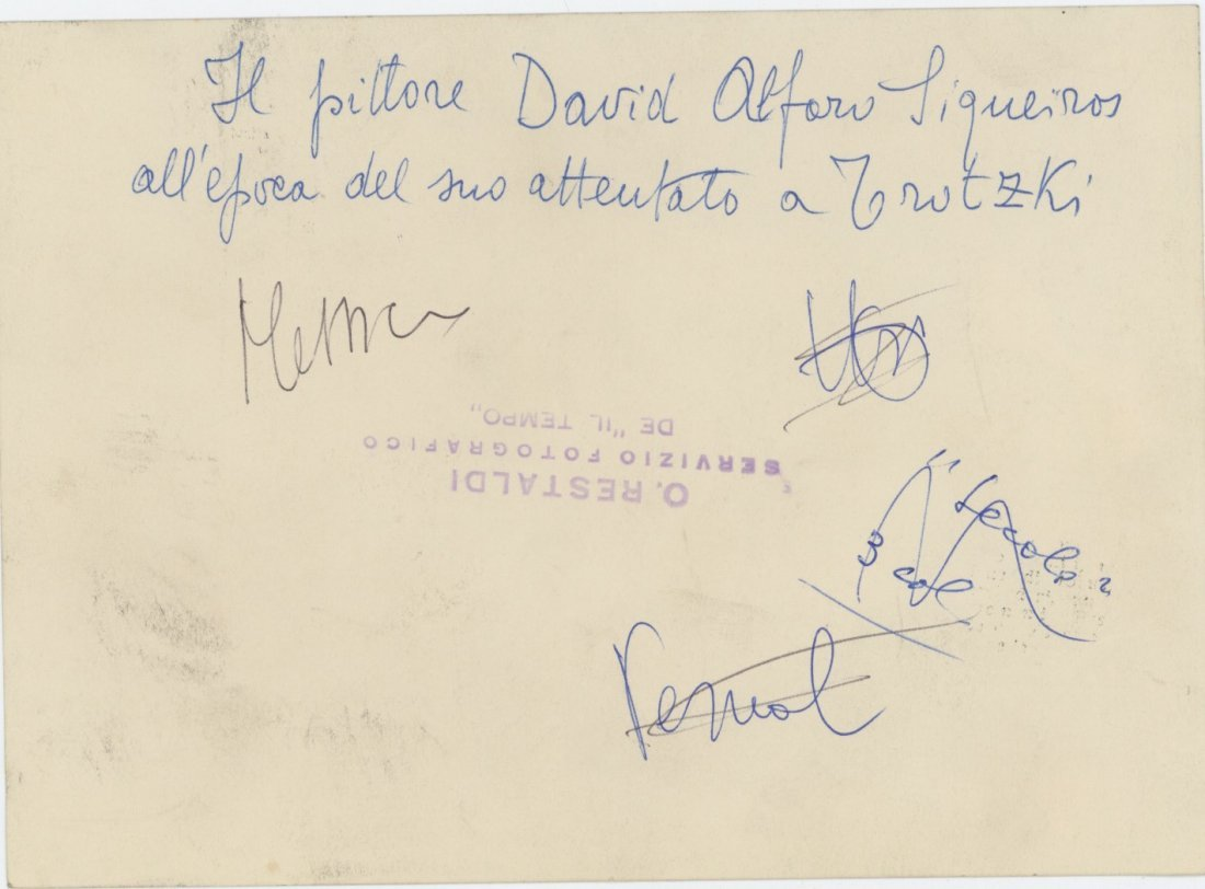 DAVID ALFARO SIQUEIROS, Rare Silver Gelatin, 1950's - 2