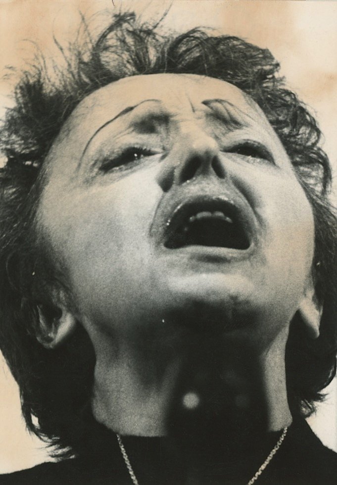 Rare Silver Gelatin Edith Piaf, 1962