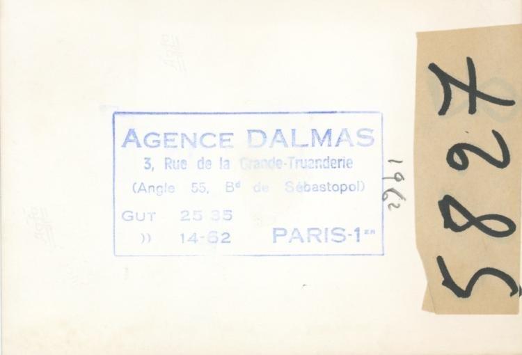 Rare Silver Gelatin Edith Piaf, 1962 - 2