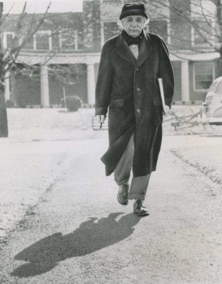 Silver News Photo Dr. Albert Einstein, 1955
