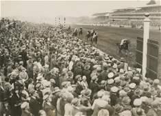 THE TIMES Photo Horse Race Finish Royal Ascot, 1923