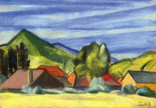 Jándi Dávid (1893-1944): In the mountains