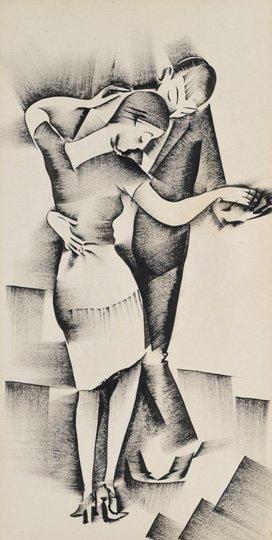 Molnár C. Pál (1894-1981): Dance, around 1925