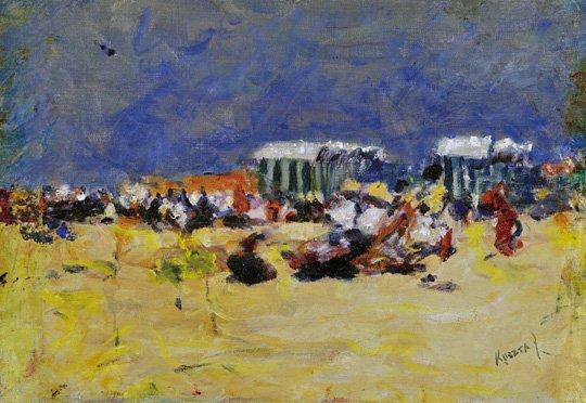 Koszta József (1861-1949): Seaside, around 1912