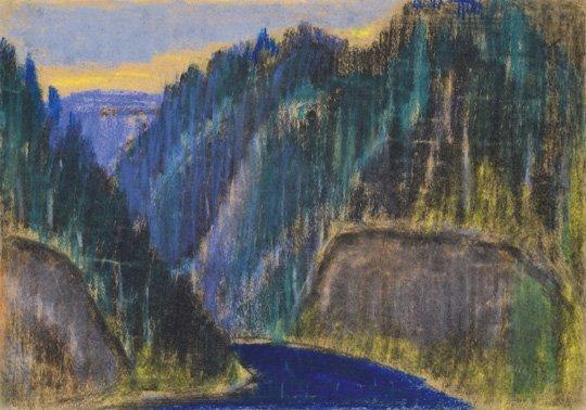 Nagy István (1873-1937): Red Lake (Highlands)