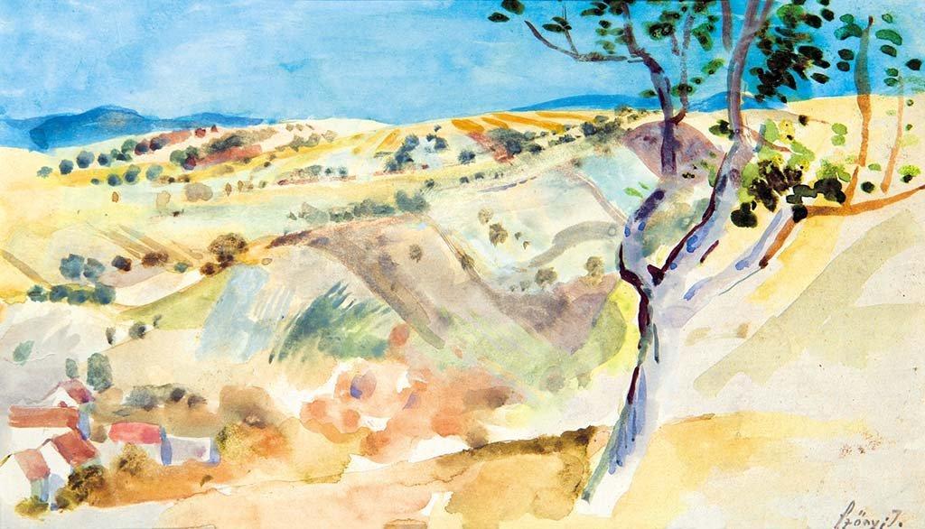 View of Zebegény