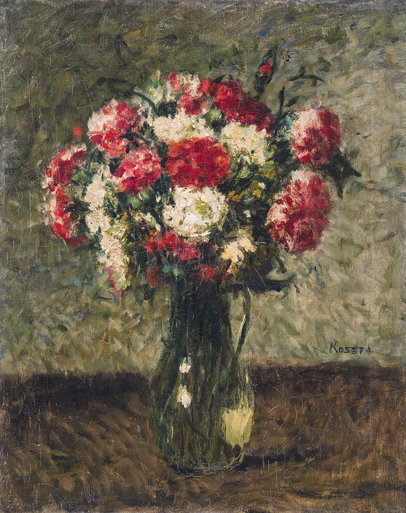 Still life with flowers, 1930s