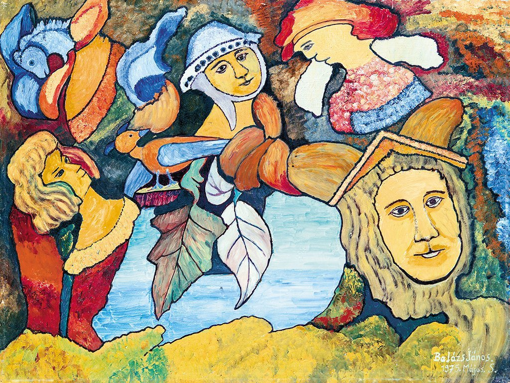 Balázs János (1905-1977): Fantasy, 1975